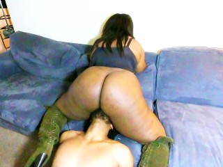 Sex Crazed Sister Explores Body/Pummels Step-Bro's Face/Takes Nasty Facial