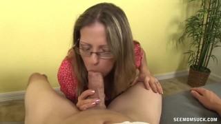 Hot milf cock sucking