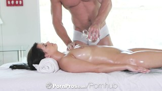 Lovely a with gracie gets dick side massage down rub of pornpros dai facial tits