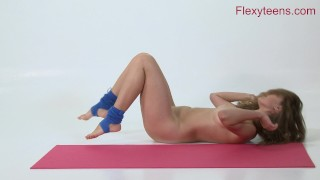 Teen anka nude shows gymnastics flexible flexyteens flexible
