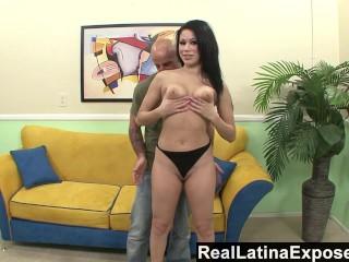 Pornstar Gauge S Real Name Reallatinaexposed - Brazen Latina Gets A Big Load On Her Camel Toe,