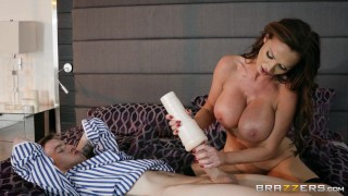 Nikki Benz and her favorite toy - Brazzers Lady blowjob