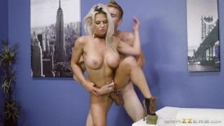 Rachel Roxxx has fun at the office costume party - Brazzers Cock kink