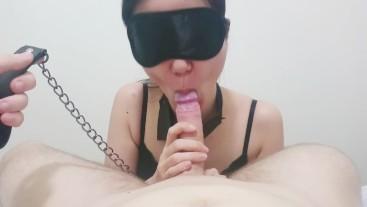 Sakura'chan suck it deep and hard as a happy sex-slave