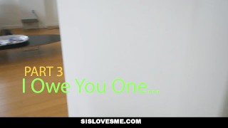 SisLovesMe - Cute Step-Sis Wanted To Cuddle  big ass step-siblings megan-sage big-cock step-brother point-of-view booty cumshot pov hardcore brunette step-sister shaved step-sis sislovesme small-tits