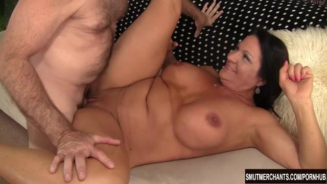 Big cock entering pussy