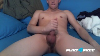 European daily his own face hunk on tristian cums cumming wanking