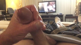 Jacking Off to Cock Hero