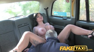 Cock fake channel taxi hottie tv gets adult public faketaxi
