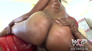 Ebony anal threesome big ebony
