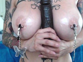 3 Cocks, A Cocktease and Panty Stuffing