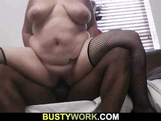 Bbw ass in your face