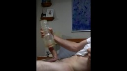 Fleshlight huge dick cumshot
