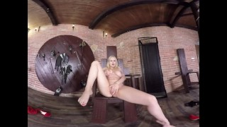 Virtual Reality porn with Angel Wicky Bdsm foot