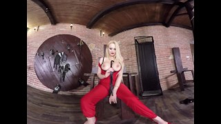 Virtual Reality porn with Angel Wicky porno