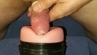Condom cum shot plus some more.