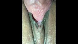 Asian wet fuck & creampie 2