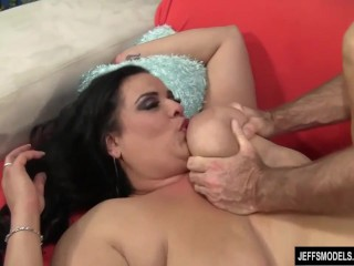 Sexy milf shows clit