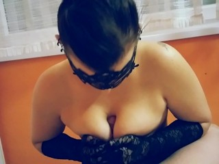 TIT WORSHIP, BREASTFEEDING, DEEPTHROAT, TITFUCK, CUM ON TITS, GLOVES