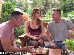 21Sextury Kira Thorne Takes a Cock in Both Holes