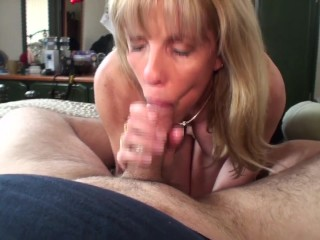 Blonde chubby housewife assfucked