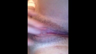Making my tight pussy wet