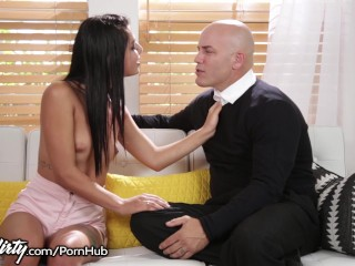 PrettyDirty Gina Valentina Begs Teacher to Fuck Her