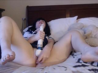 Hitachi Cum Hot Japanese Schoolgirl Teen Amateur Meadowraines