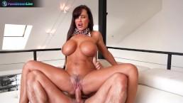 Busty honey Lisa Ann likes having sex after photoshoot