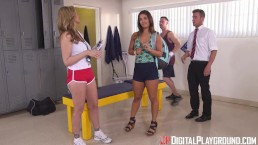Digital Playground- Student Athlete Gets Rewarded By Big Tits Trainer