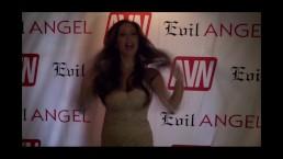 Tasha Reign w/ Jiggy Jaguar AVN Expo 2017 Las Vegas NV