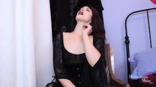 Bitchy Goth FemDom Makes You Suck Her Cock While You Stroke Your Dick  goth girls cum encouragement joi encouragement femdom strapon strapon femdom bi training domination young kink joi bi humiliation edging instruction brookelynnebriar jerk off instruction brookelynne briar