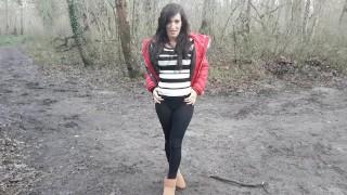 Sextwoo strip en forêt Masturbation adult