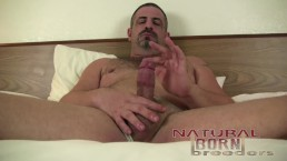 Jon Woof Unloads His Thick Cock in His Smelly Jock Strap