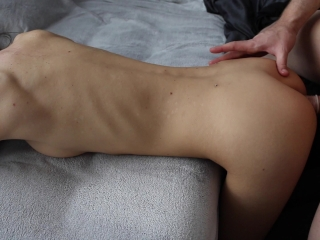 College Teen Gets Fucked In The Ass For The First Time (Homemade)