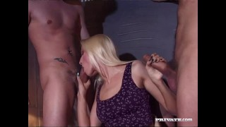 Private.com Sophie Roche Gets Hardcore Gangbang