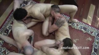Amateur Four way Group Sex