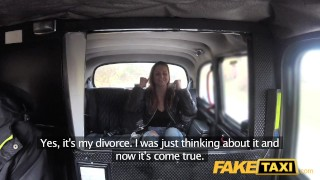 Fake Taxi Divorced lady gets taxi fucking  tits oral pussy-licking point-of-view amateur public pov camera faketaxi spycam car reality dogging prague