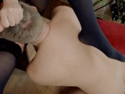 Extremely Huge Squirting orgasm after rough pussy eating. Squirt drink:)