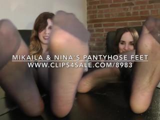 Mikaila & Nina's Pantyhose Feet - www.c4s.com/8983/16990998