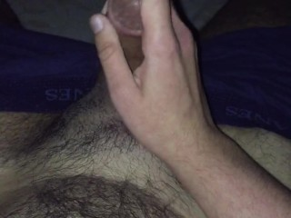 Horny!! & masturbating! With lots of cum in the end!