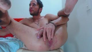 mi show finger parte 2  big ass big dick latino finger asshole latino guy