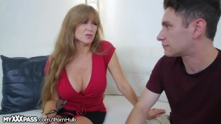 Horny Mom Gives Son-in-Law a Lesson softcore mature milf masturbation masturbate mom blowjob cougar myxxxpass cumshot mother mother-in-law older-younger open-mouth-cumshot big-boobs big-tits granny
