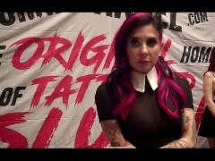 Joanna Angel w/ Jiggy Jaguar AVN Expo 2017
