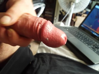 jacking off and cumming