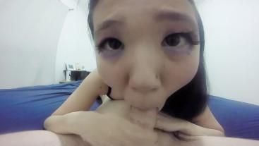 Closeup Blowjob 69 with Sakura'chan
