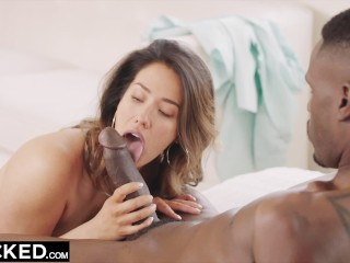 Teenie Tiny Titties Tgp BLACKED Eva Lovia Catches Up With A College Fling