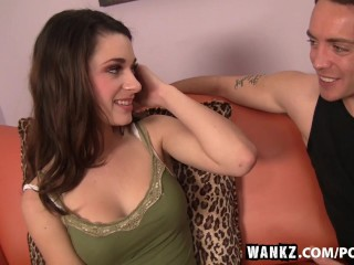 WANKZ- New Teen Hottie Lacy Channing Gets Pounded