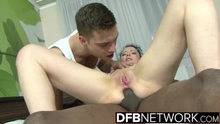 Cum Craving Cuckold Hardcore Interracial Fucking his Girlfriend