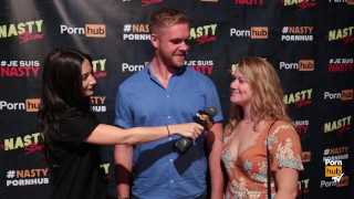 Pornhub Aria Nasty Show Audience Interviews at Just For Laughs Festival